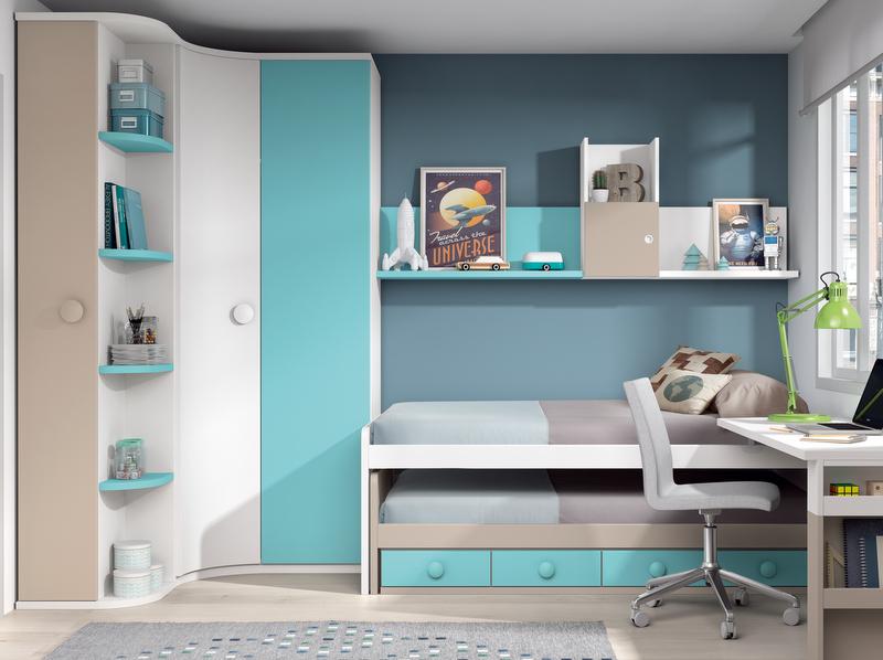 Compactos dormitorios juveniles baratos muebles - Muebles shena opinion ...