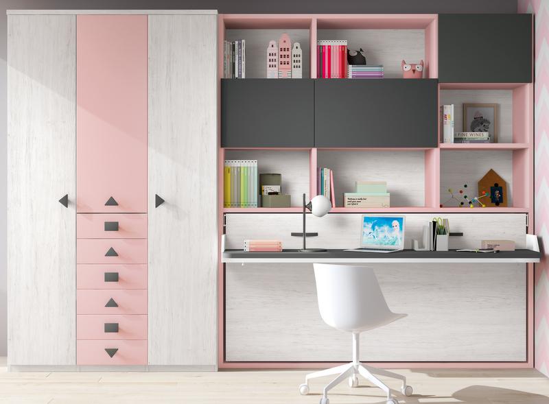 Camas abatibles dormitorios juveniles baratos muebles juveniles madrid - Muebles juveniles baratos online ...