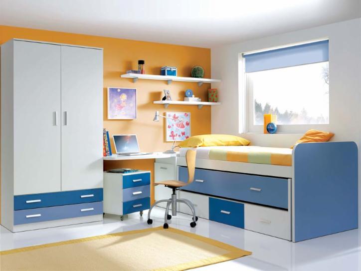 Compactos dormitorios juveniles baratos muebles for Muebles juveniles baratos