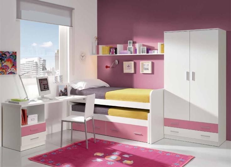 Compactos dormitorios juveniles baratos muebles - Imagenes dormitorios juveniles ...