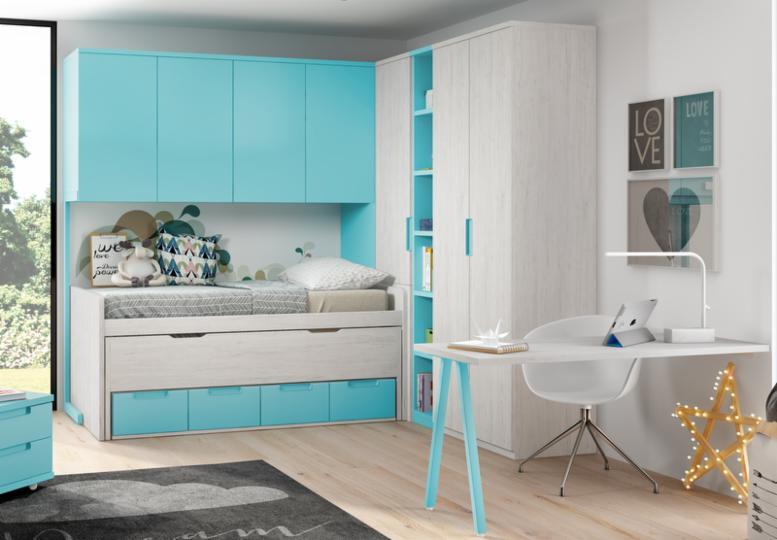 Compactos dormitorios juveniles baratos muebles - Dormitorios juveniles granada baratos ...