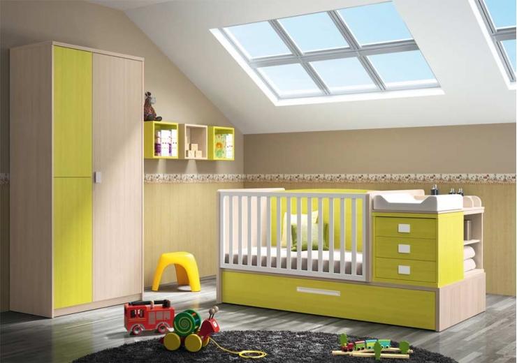 Cunas convertibles dormitorios juveniles baratos for Muebles juveniles baratos madrid