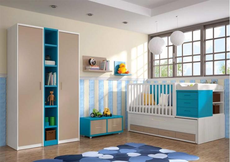 Cunas convertibles dormitorios juveniles baratos for Muebles juveniles baratos