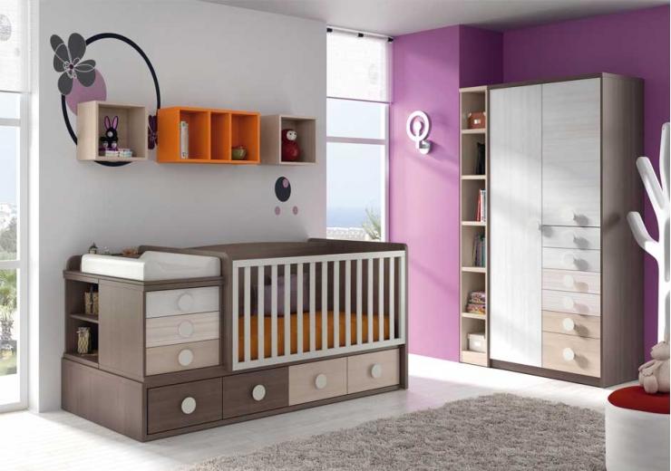 Cunas convertibles dormitorios juveniles baratos - Dormitorios para bebes baratos ...