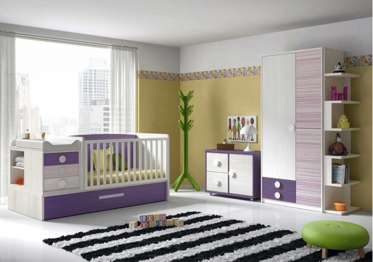 Cunas convertibles dormitorios juveniles baratos for Compactos juveniles baratos