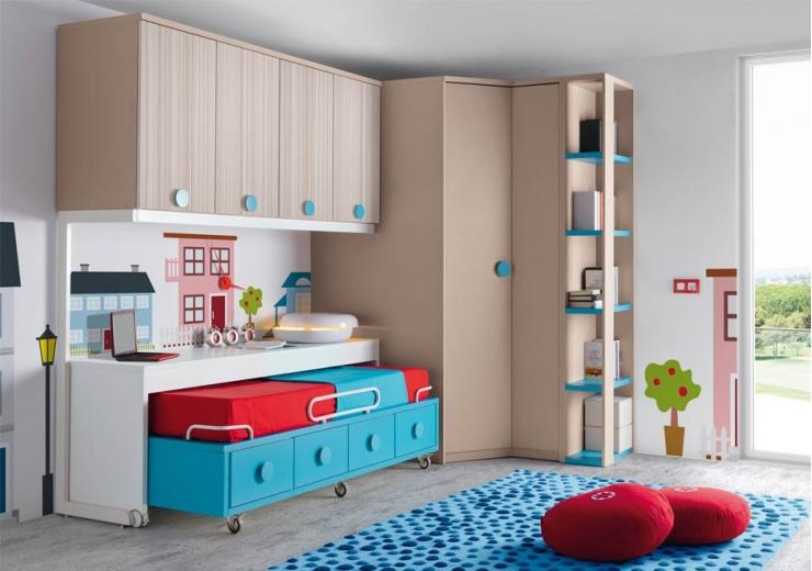 Compactos muebles juveniles dormitorios juveniles - Modelos de dormitorios juveniles ...