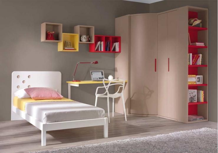 Camas muebles juveniles dormitorios juveniles for Cabeceros juveniles