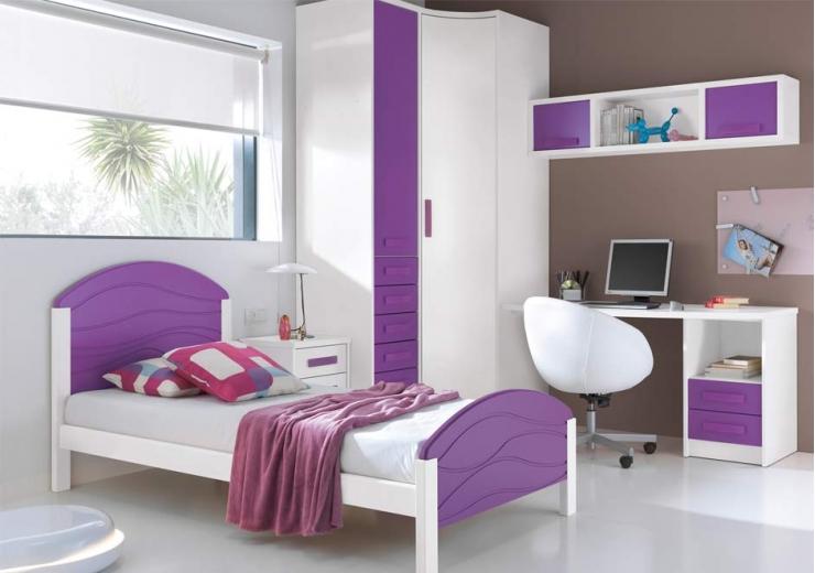 Camas muebles juveniles dormitorios juveniles for Cabeceros cama juvenil