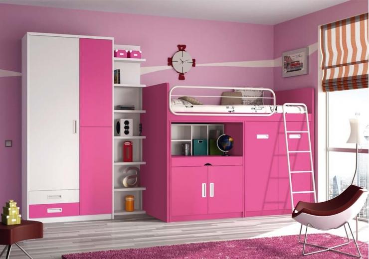 Literas trenes muebles juveniles dormitorios juveniles for Camas literas juveniles