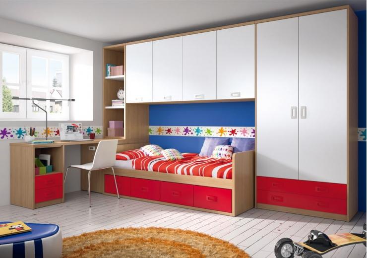 Nidos muebles juveniles dormitorios juveniles for Muebles nido juveniles