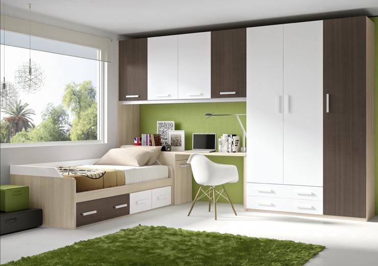 Nidos muebles juveniles dormitorios juveniles for Muebles para dormitorios pequenos juveniles